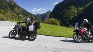 Kurvenspaß beim Motorrad Kurzurlaub