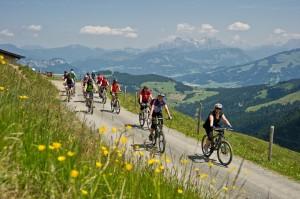 Mountain- und E-Biken rund um den Wilden Kaiser ist Gold für alle Naturliebhaber