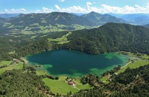 Der wunderschöne Hintersteinersee, eine Perle der Natur.