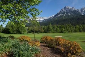 Golfen am Wilden Kaiser