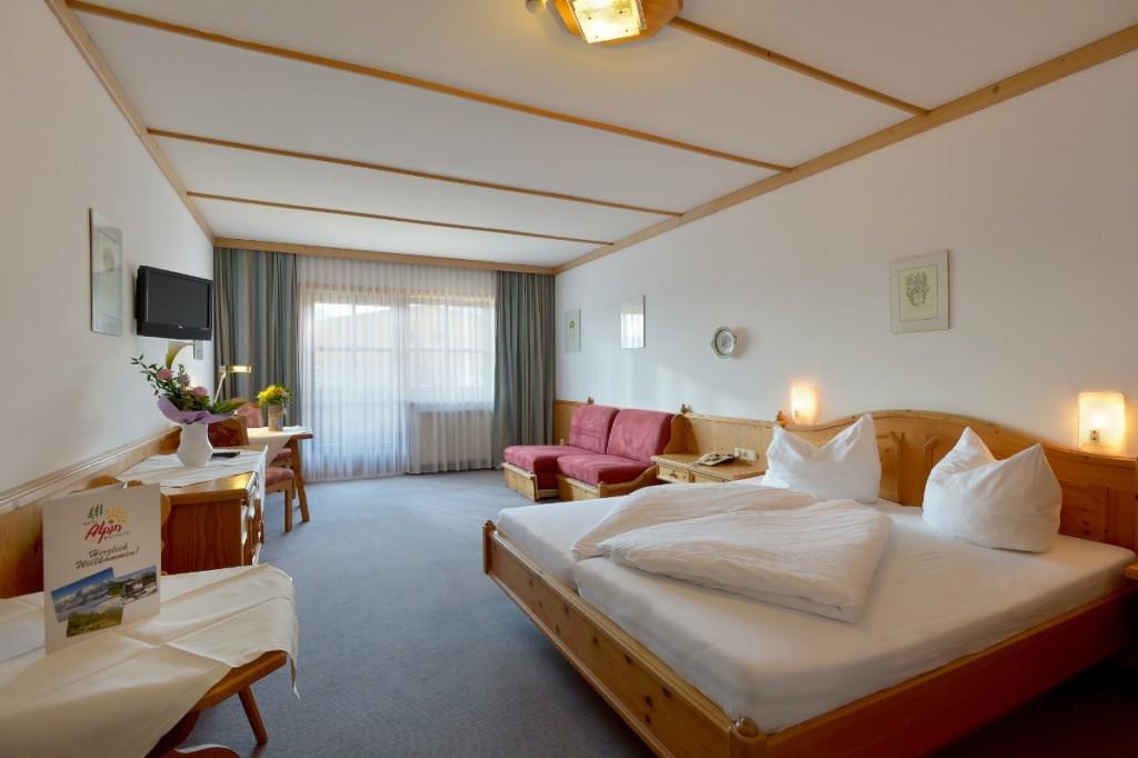 Ein hoher Komfort, große Zimmer und ein guter Service machen das Alpin Scheffau zur perfekten Unterkunft