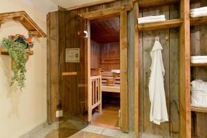 Eines der Wellness-Angebote des Alpin Scheffaus: die Sauna