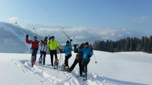 Schneeschuhwandern in Tirol: im Kaiserwinkl geht das sehr einfach!